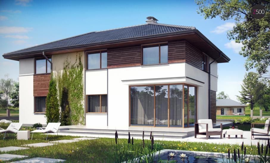 Проект дома Z159 иллюстрация 2