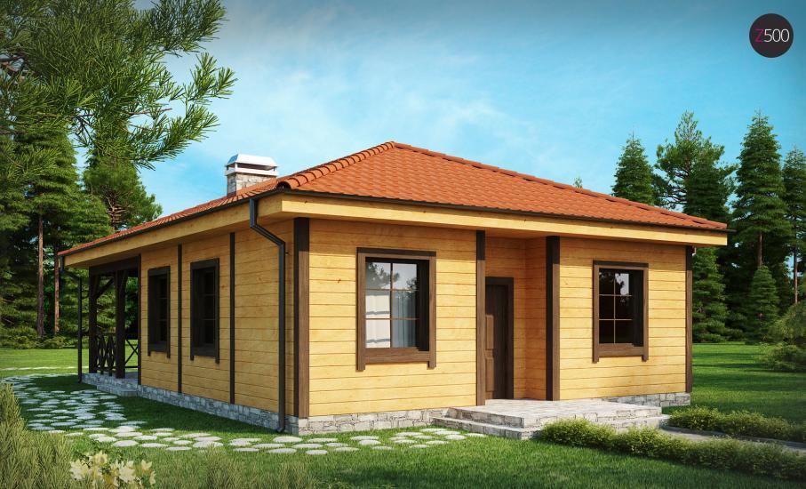 Проект дома Z16 иллюстрация 2
