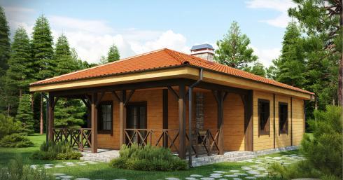 Проект дома Z16 иллюстрация 1