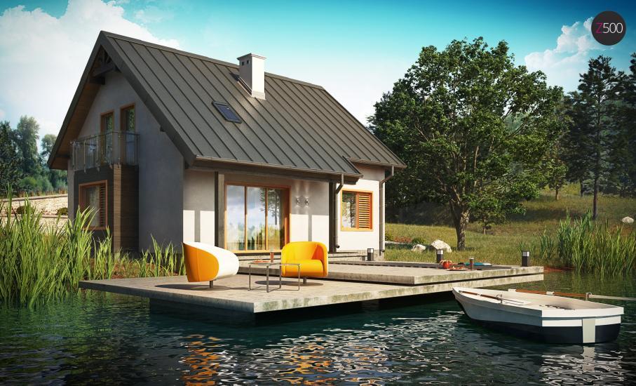 Проект дома Z162 иллюстрация 1