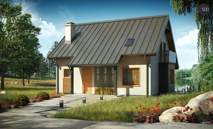 Проект дома Z162 иллюстрация 2
