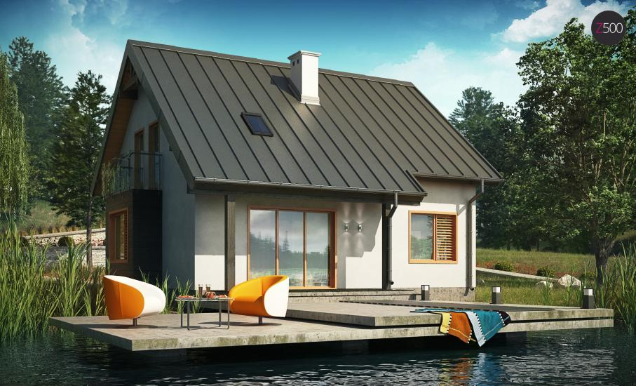 Проект дома Z162 иллюстрация 3