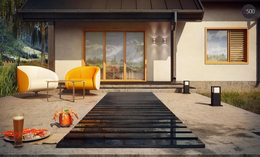 Проект дома Z162 иллюстрация 5