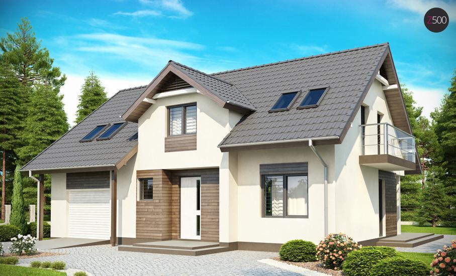 Проект дома Z172 иллюстрация 1