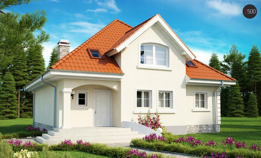 Проект дома Z18 иллюстрация 2