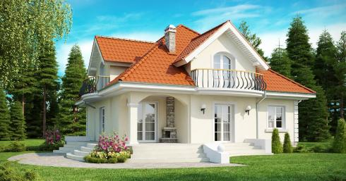 Проект дома Z18 иллюстрация 1