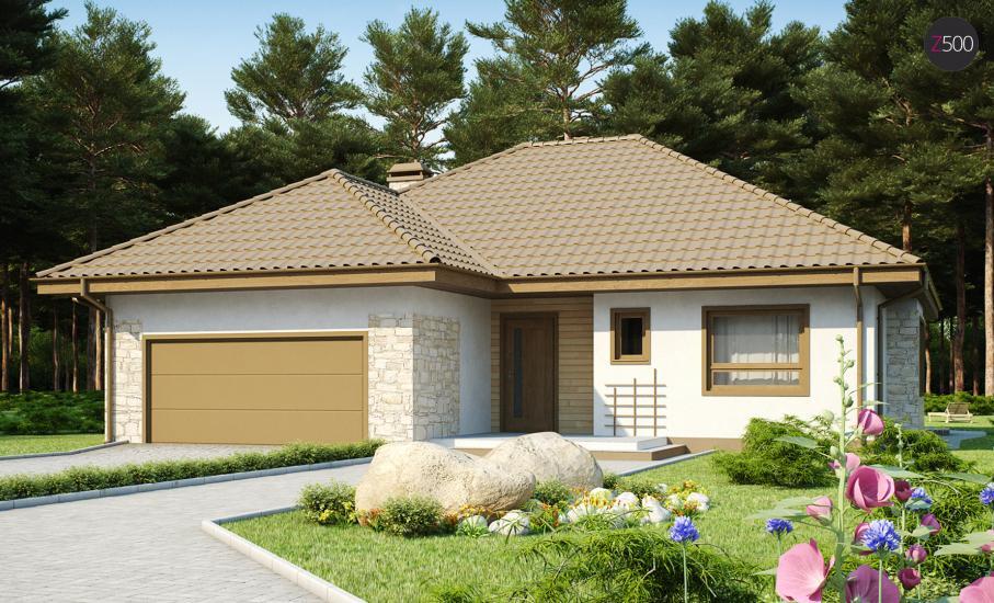 Проект дома Z19 иллюстрация 2