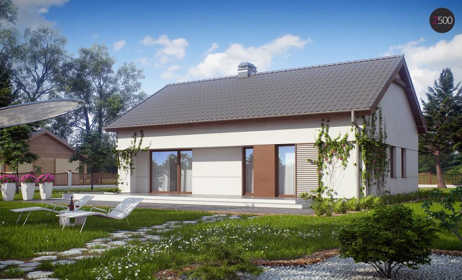 Проект дома Z191 иллюстрация 1