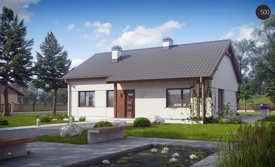 Проект дома Z191 иллюстрация 2