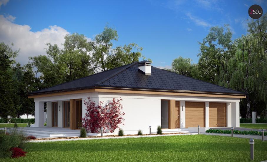 Проект дома Z196 иллюстрация 1
