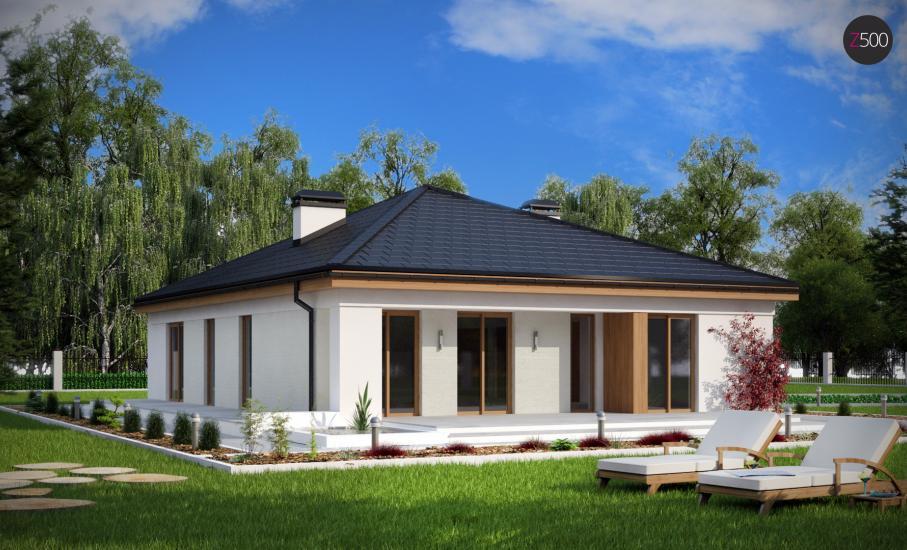 Проект дома Z196 иллюстрация 2