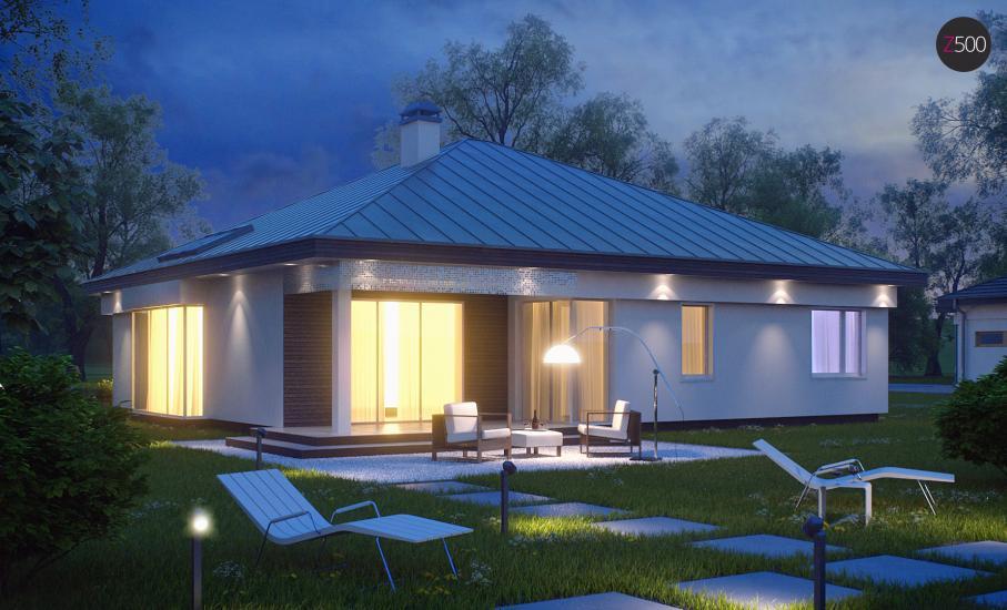 Проект дома Z200 иллюстрация 2