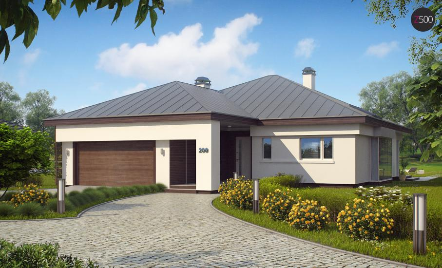 Проект дома Z200 иллюстрация 3