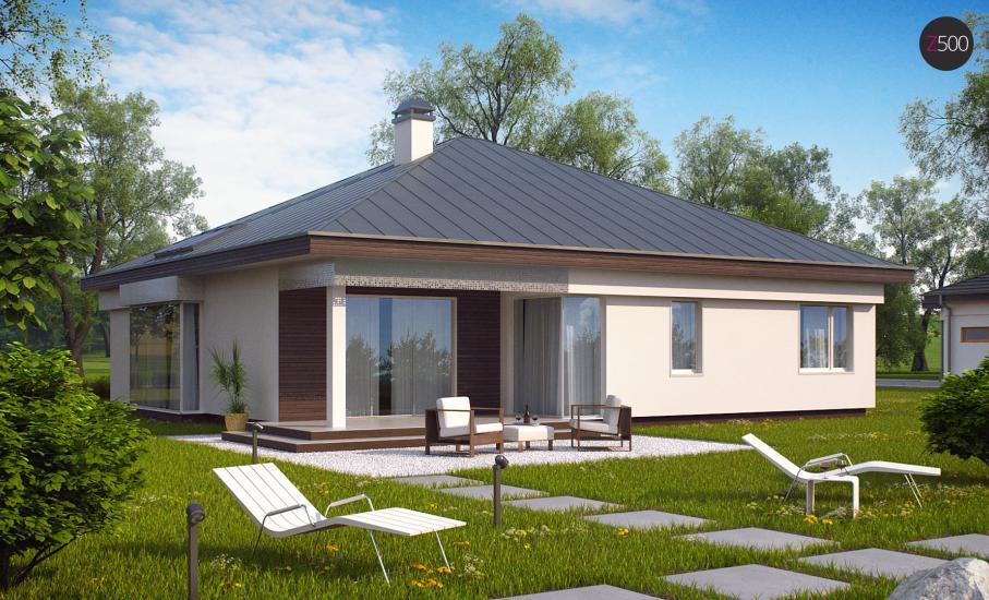 Проект дома Z200 иллюстрация 4