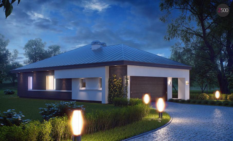 Проект дома Z200 иллюстрация 5