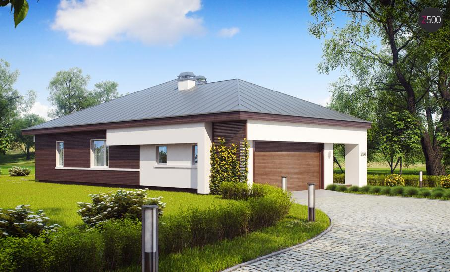 Проект дома Z200 иллюстрация 6