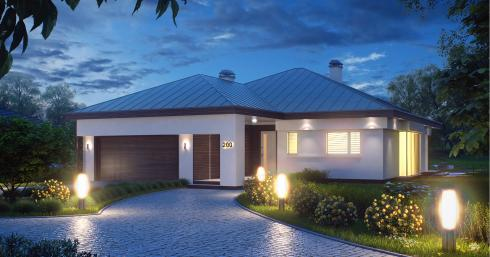 Проект дома Z200 иллюстрация 1