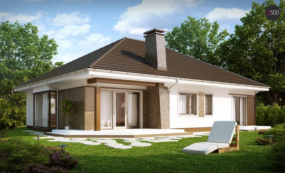 Проект дома Z205 иллюстрация 1