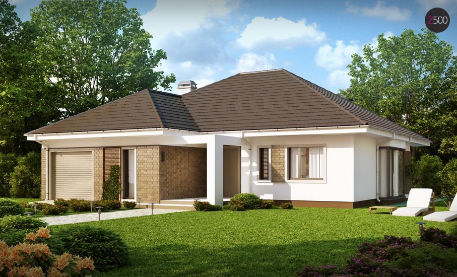 Проект дома Z205 иллюстрация 2