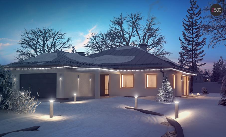 Проект дома Z207 иллюстрация 1