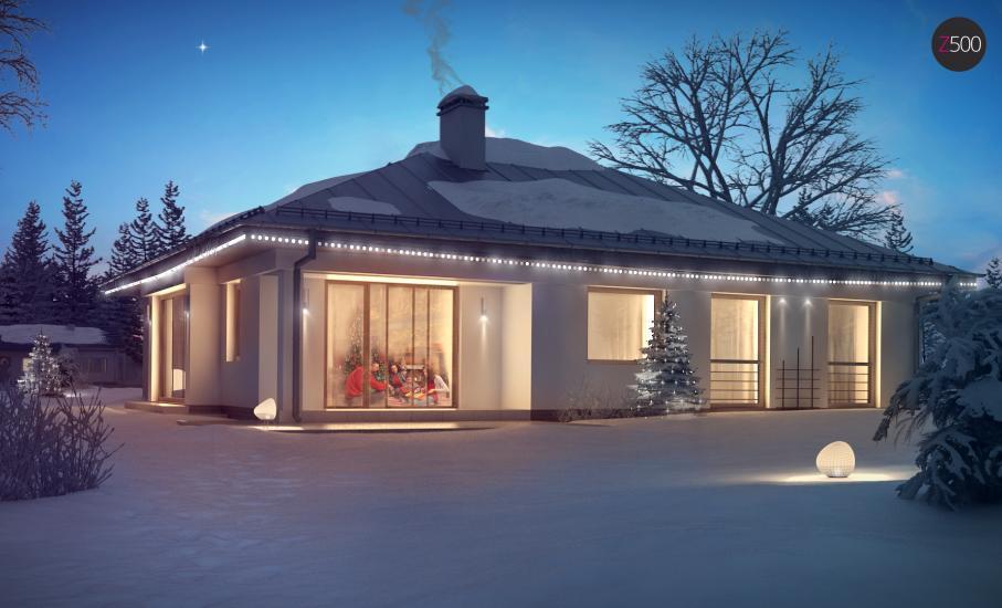 Проект дома Z207 иллюстрация 2
