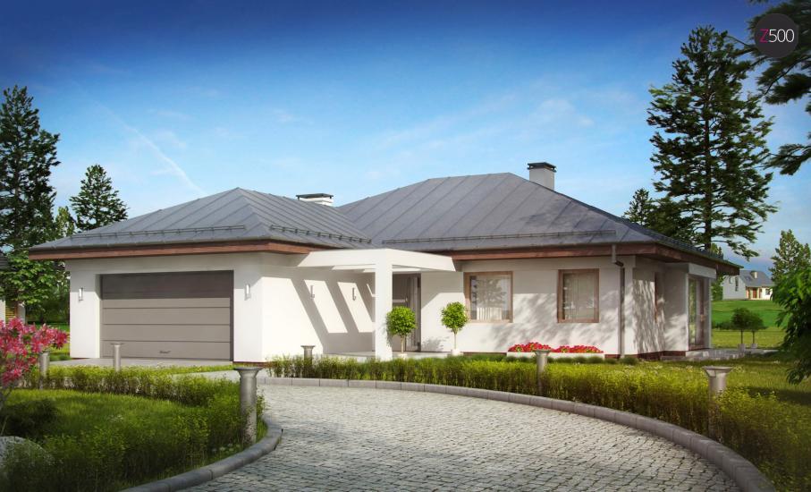 Проект дома Z207 иллюстрация 3