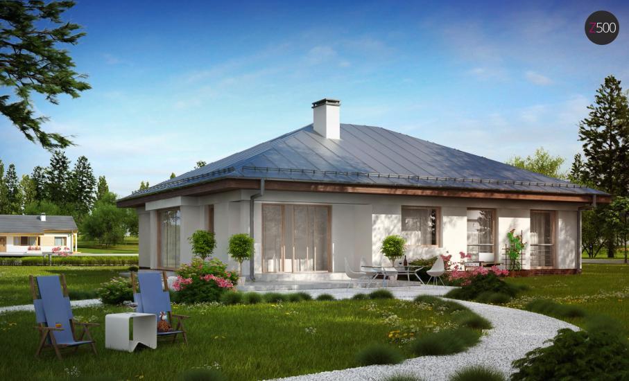 Проект дома Z207 иллюстрация 4