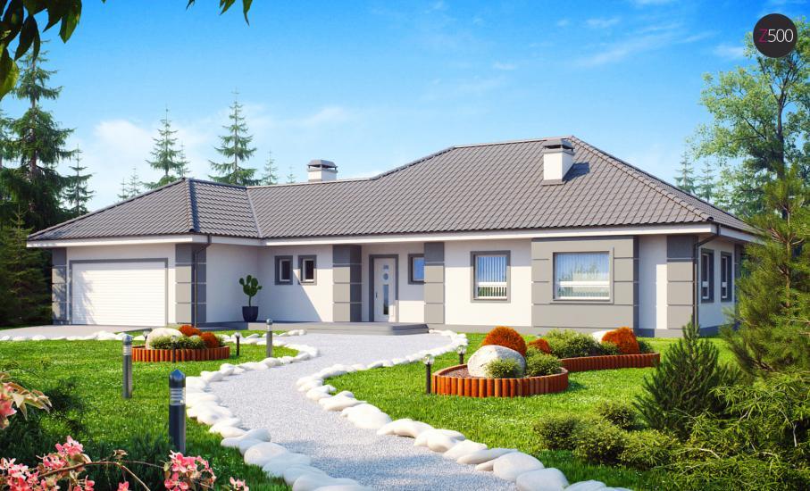 Проект дома Z21 иллюстрация 1