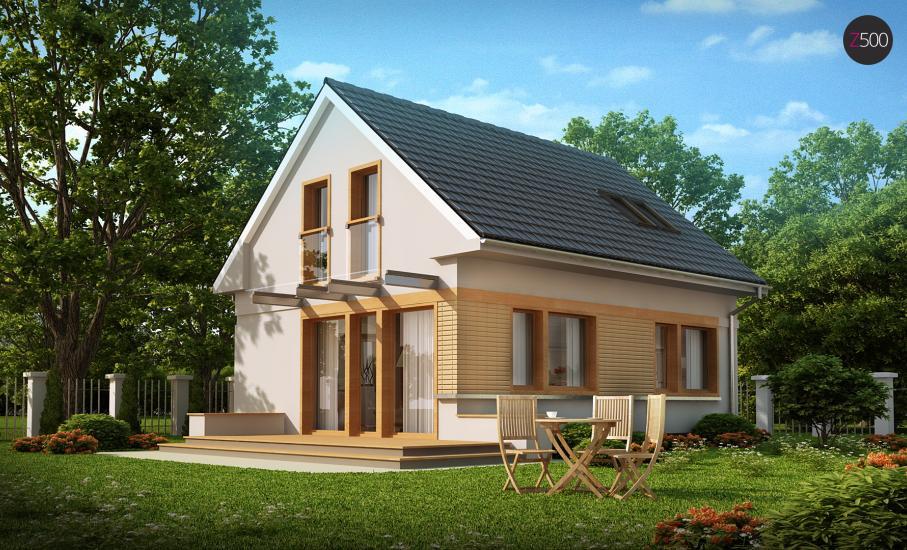 Проект дома Z211 иллюстрация 1