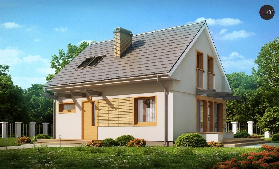 Проект дома Z211 иллюстрация 2