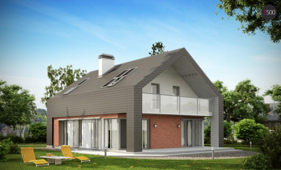 Проект дома Z215 иллюстрация 2