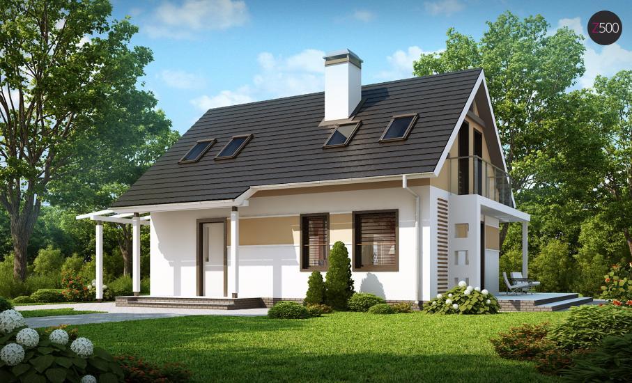 Проект дома Z216 иллюстрация 2