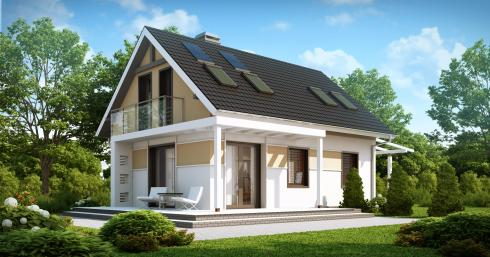 Проект дома Z216 иллюстрация 1