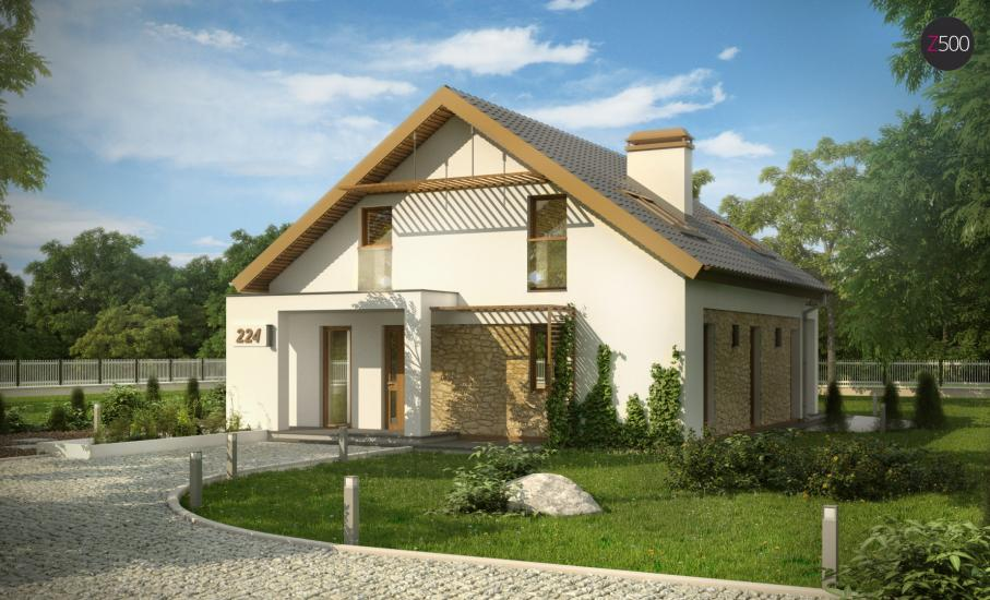 Проект дома Z224 иллюстрация 2