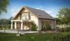 Проект дома Z224 иллюстрация 1