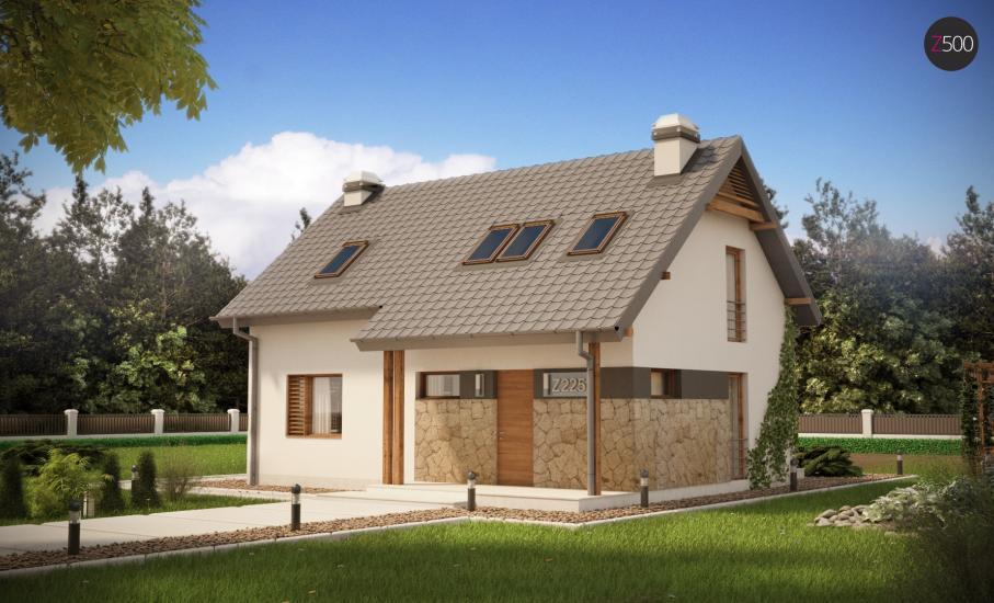 Проект дома Z225 иллюстрация 1