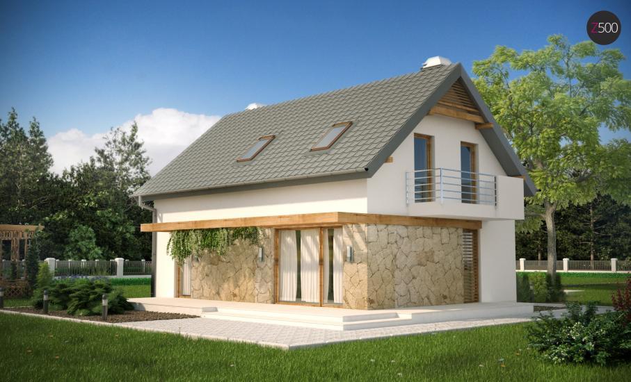 Проект дома Z225 иллюстрация 2