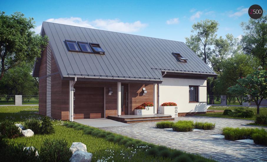 Проект дома Z226 иллюстрация 1