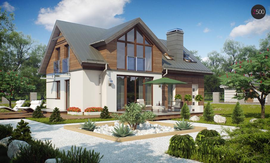 Проект дома Z226 иллюстрация 2