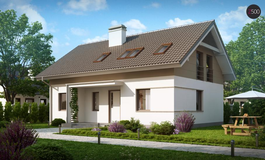 Проект дома Z244 иллюстрация 2