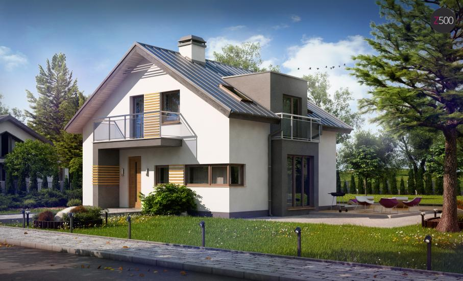 Проект дома Z245 иллюстрация 2