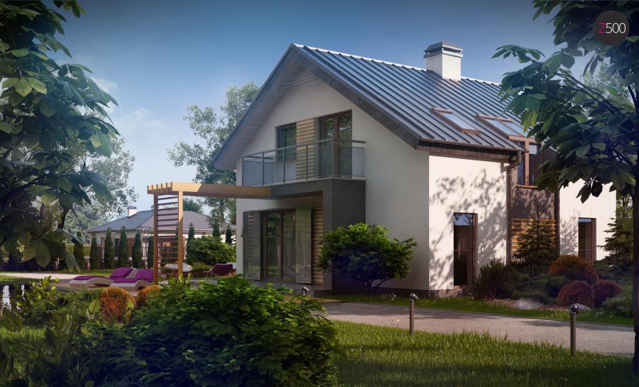 Проект дома Z245 иллюстрация 3