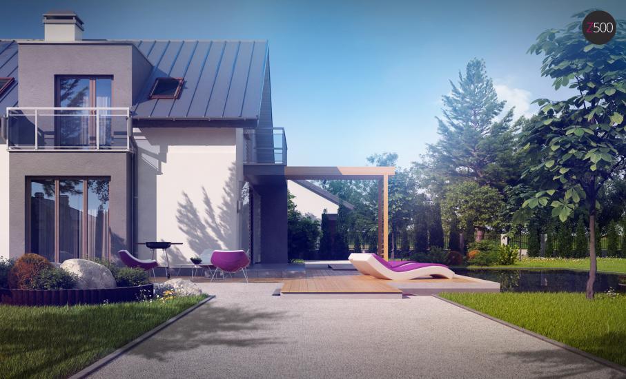 Проект дома Z245 иллюстрация 4