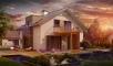 Проект дома Z245 иллюстрация 1