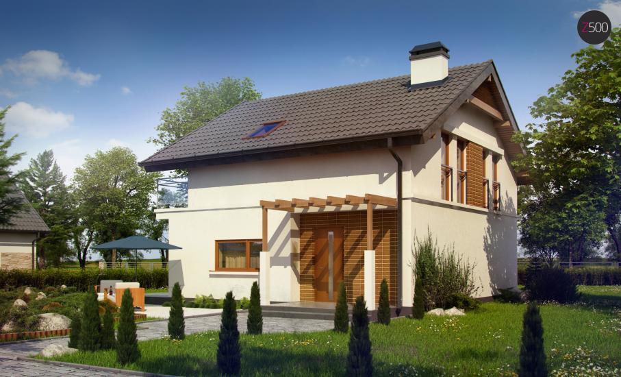 Проект дома Z248 иллюстрация 1