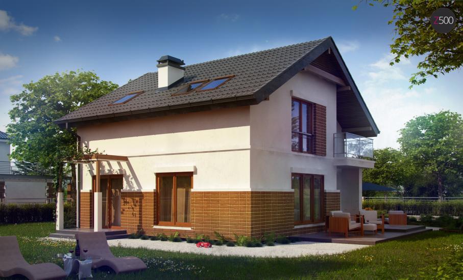 Проект дома Z248 иллюстрация 3