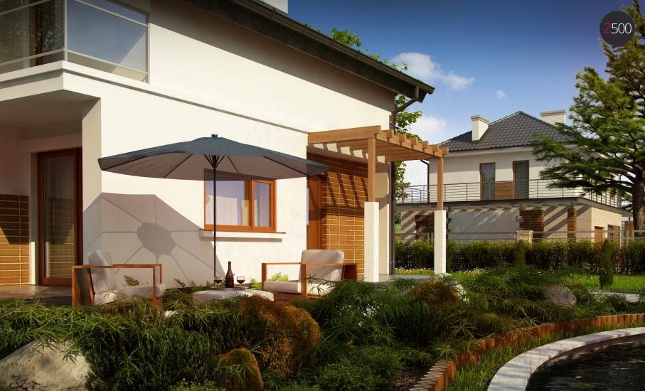 Проект дома Z248 иллюстрация 4
