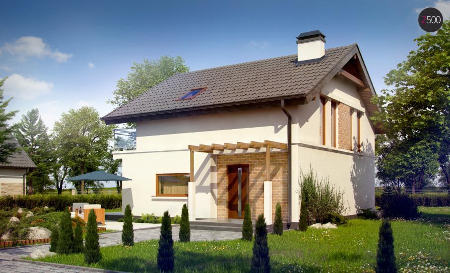 Проект дома Z248 иллюстрация 5