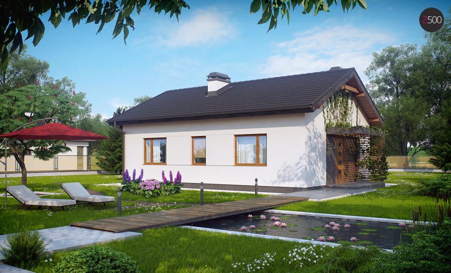 Проект дома Z254 иллюстрация 2
