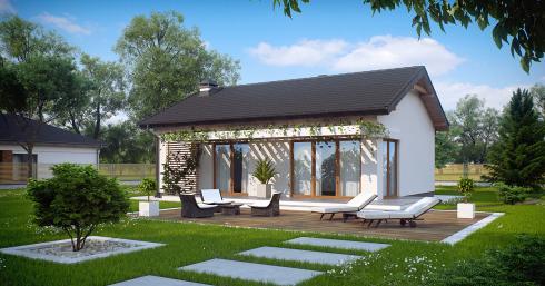 Проект дома Z254 иллюстрация 1